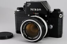 [Exc++++] NIKON F Ftn Photomic Black Camera w/Nikkor-S Auto 50mm f/1.4 from JP
