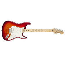 Fender Standard Stratocaster Plus Top Guitar Maple Aged Cherry Sunburst DEMO