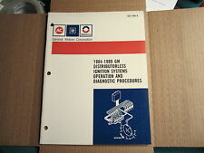 84 85 86 87 88 89 AC Delco distributorless ignition service training manual