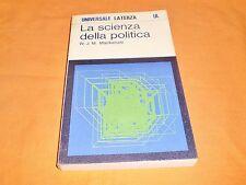 mackenzie la scienza della politica universale laterza 1973