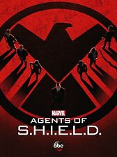 "Agents of Shield TV series 2014 Art Deco Silk Wall Poster 12x18"" AoS2"