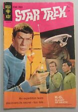 Gold Key Star Trek #1 Leonard Nimoy Photo Cover 1967 Very Good Kirk Spock Comics
