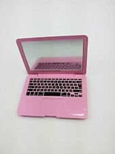 Pink Mini Doll Laptop Computer For 18 Inch American Girl Doll Dolls Clothes