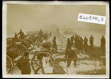 guerre des Balkans. cantonnement de l'artillerie Serbe à S..... le 20/12/1912