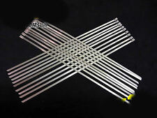 Stainless Steel Exhaust Heat Wrap TIES  5MM X 350MM X 20 qty