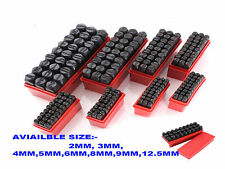 """8mm (5/16"""") 36pc Stamp Letter Alphabet Number Punch Die Tool Leather Marker"""