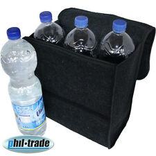 Filz Kofferraum Tasche Werkzeugtasche schwarz mit Klett 26 x 14,5 x 33 cm