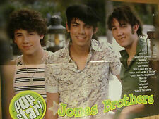 The Jonas Brothers, Ashley Tisdale, Double Four Page Foldout Poster