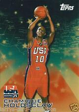 """Chamique Holdsclaw 2000 00 Topps Team USA """"Gold"""" #18 Combined Shipping"""