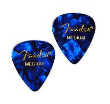 Blue Guitar Pick Cufflinks - Men's Accessories - Handmade - Gift Box