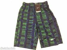 Nike Boys Youth Basketball Athletic Gym Shorts Multicolor Print NWT Size Medium