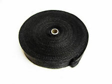 Black Exhaust Heat Wrap  High Temp Manifold Front Pipe Exhaust Shields - 5 M