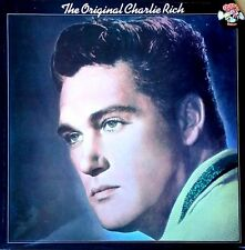 CHARLIE RICH - THE ORIGINAL CHARLIE RICH - CHARLY LP - U.K. PRESSING