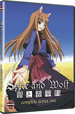 Spice And Wolf . The Complete Season One . 1. Staffel . Anime .. 2 DVD . NEU OVP