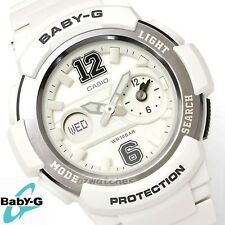 CASIO BABY-G LADIES WATCH BGA-210-7B1 FREE EXPRESS WHITE BGA-210-7B1DR