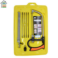Multi-Function Woodworking Hand Hacksaw Set Bow Saw Detachable Portable Hand Saw