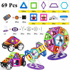 69 Pcs Magformers Magnetic Building Sets Blocks Educational Toys Ferris wheel