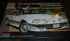 MONOGRAM MUSTANG MONKEES CONVERTIBLE MODEL CAR MOUNTAIN KIT FS 1/24
