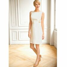La Redoute Ivory Embellished Dress Sz 10 RRP £45 £5 Stock clearance in our shop