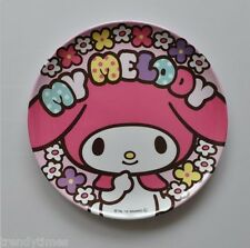 """Sanrio My Melody with Blossom Plastic Plate 8""""   FOR SALE IN JAPAN ONLY"""