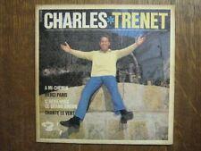 CHARLES TRENET EP FRANCE MERCI BREL FERRE AZNAVOUR