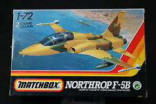 YN122 MATCHBOX 1/72 maquette avion 40039 Northrop F-5B