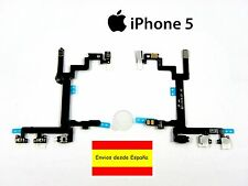 Cable Flex Encendido Botones On/Off Mute Volumen para iPhone 5 5G