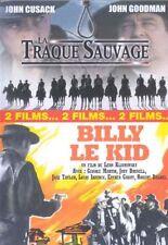DVD - LA TRAQUE SAUVAGE + BILLY LE KID / Edition 2 films -D10