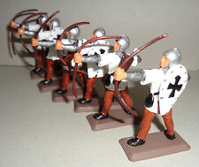 on foot TEUTONIC ARCHERS KNIGHTS Argentina DSG Medieval  Soldiers Britains