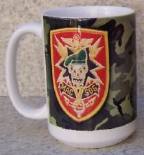 Coffee Mug Military Mac V Sog Vietnam NEW 14 ounce cup with gift box