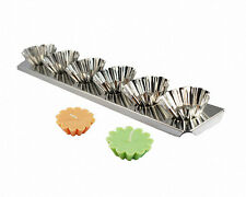 FLOATER (Tart) Candle Mold 6-up Metal Strip