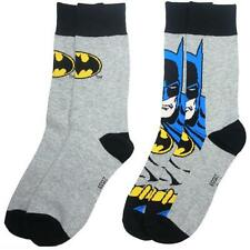 Batman: Twin Pack Adult Size Sock Set - New & Official DC Comics With Tag