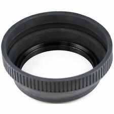 Retractable Rubber Lens Hood 72mm Fits Nikon & Canon !