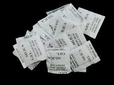 50 x 1g Packets of Silica Gel Sachets Desiccant Pouches O127