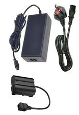 UK AC Adapter + EP-5B DC Coupler Connector for Nikon 1 V1 D600 D800 D800E D7000