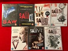 SAW The Complete Collection 1-7 DVD Set 1 2 3 4 5 6 The Final Chapter UK Region2