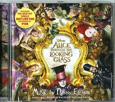 ALICE THROUGH TH LOOKING GLASS  D. ELFMAN O.S.T. CD NUOVO SIGILLATO