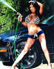 ALEXIS AMORE MODEL ADULT FILM STAR SIGNED AUTOGRAPH 8X10 PHOTO #5 W/ PROOF