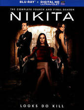 Nikita: The Complete Fourth and Final Season (Blu-ray Disc, 2014, Includes Digi…