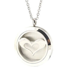 Love Heart Premium Aromatherapy Essential Oil Diffuser Locket Necklace Pendant