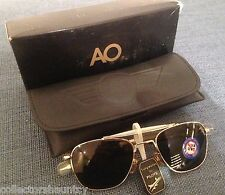 VINTAGE AO AMERICAN OPTICAL FG-58 52MM SKYMASTER AVIATOR SUNGLASSES