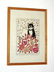 RACHEL GREEN Humorous Limited Edition Print of 2 Cats 'The Happy Couple' 42/100