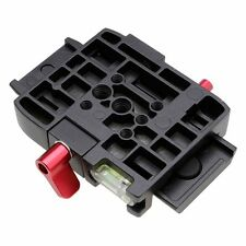 Quick Release Plate QR Clamp Adapter Mount for Manfrotto 501 500AH 701HDV 577
