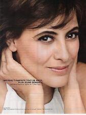 ▬► PUBLICITE ADVERTISING AD Inès de la Fressange L'OREAL Paris 2012 2 pages