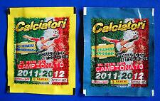 """CALCIATORI PANINI 2011-2012 - 2 bustine """"Film del campionato"""" V1/V16 - sigillate"""