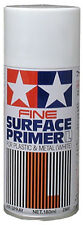 Tamiya Surface Primer Fine White large can 6.9 oz (180ml)  87044
