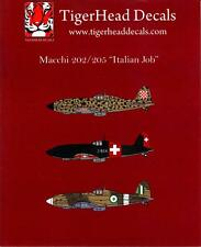 Tigerhead Decals 1/72 MACCHI 202 & MACCHI 205 Fighters