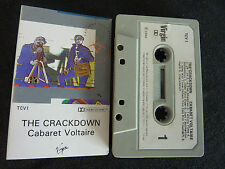 CABARET VOLTAIRE THE CRACKDOWN ULTRA RARE NEW ZEALAND CASSETTE TAPE!
