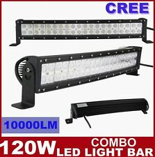 "23""120W CREE Curved LED Work Light Bar Flood Spot Combo Offroad ATV 12V 24V Jeep"