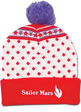 *NEW* Sailor Moon: Sailor Mars Pom Beanie by GE Animation